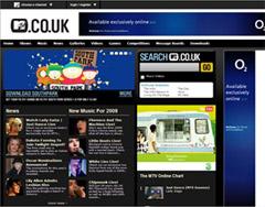 Drupal-CMSで制作されたサイト:MTV